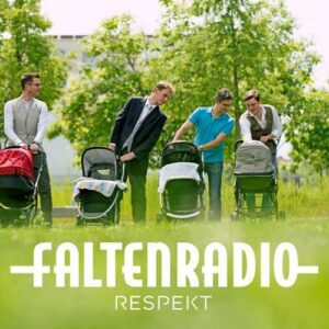 CD Cover: Faltenradio Respekt